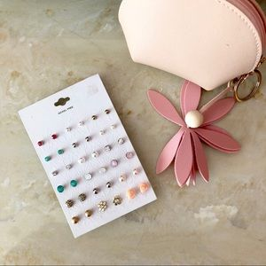 Mixed stud earring pack